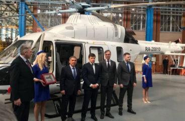 «Русские вертолетные системы» получили пятый медицинский «Ансат»