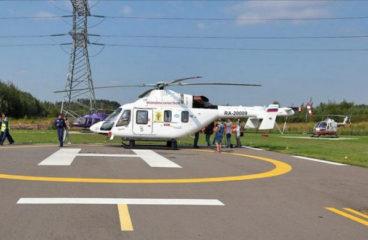 «Русские вертолетные системы» получили второй медицинский «Ансат»