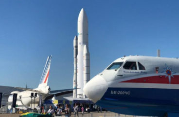 Фото: самые интересные экспонаты авиасалона в Ле-Бурже