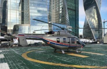 «Русские вертолетные системы» получили медицинский «Ансат»