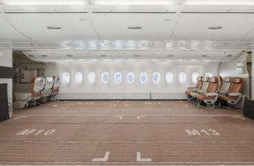 Авиакомпания Hi Fly показала первый в мире «грузовой» Airbus A380
