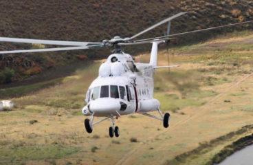 Авиакомпания «Тува-Авиа» получила второй вертолет Ми-8МТВ-1